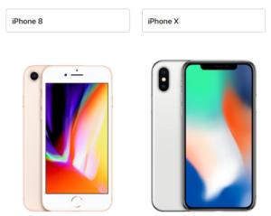iphone8 iphoneX サイズ 大きさ 比較