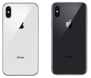 iphoneX カラーバリーエーション