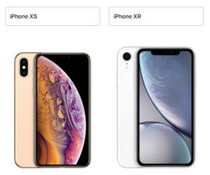 iphoneXS iphoneXR サイズ 比較