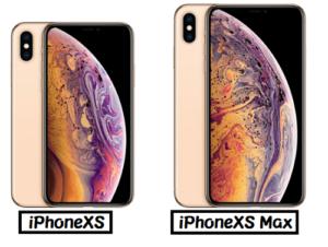 iPhoneXS iPhoneXS Max サイズ比較