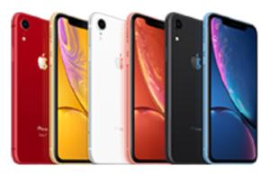 iphoneXR カラーバリエーション