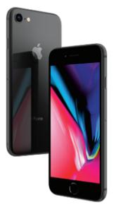 iphone8 グレイ
