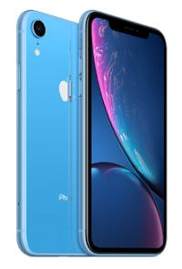 iphoneXR ブルー