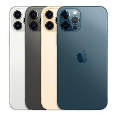 iPhone12 Pro・Pro Maxカラーバリーエーション 4色展