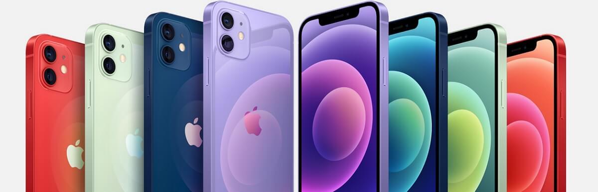iPhone 12 mini 色 カラーバリエーション 6色